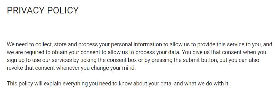 Вы остаетесь полностью анонимным при использовании сайта